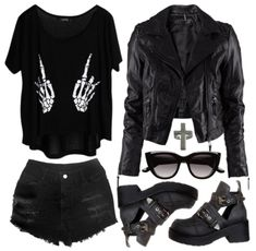 Scene Outfits, Rock Outfits, Gothic Outfits, Edgy Outfits, Grunge Outfits, Fashion Outfits, Dark Fashion, Grunge Fashion, Gothic Fashion
