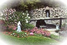 Beautiful Grotto of Lourdes National Shrine in Emmitsburg, MD