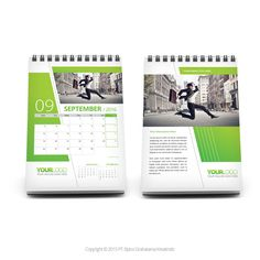 product-image-02 Green Desk, Diary Notebook, Desk Calendars, Calendar Design, Printing Services, Stationery, Graphic Design, Diaries, Mockup