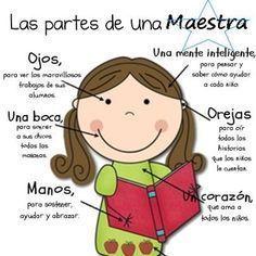 9 Best Teacher's Day Craft Ideas For Kids And Preschoolers Spanish Teacher, Spanish Classroom, Teaching Spanish, My Favourite Teacher, Best Teacher, Teacher Gifts, Teacher Clothes, Teacher Stuff, Teaching Quotes