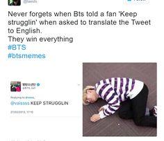 bts memes. korean. twitter.