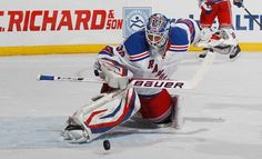 One of the best goalies ever...Henrick Lundqvist and one of my favorite players <3