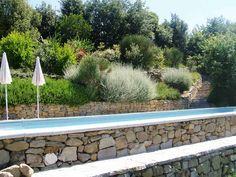 giardino terrazzato con piscina - Google Search