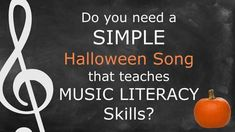 Halloween Fun, Orff Arrangements, Learning Targets, I Can Statements, Reading Music, Literacy Skills, Reading Lessons, Music Class, Musik