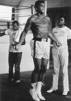 Muhammad Ali in When We Were Kings