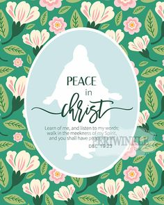 2018 Mutual Theme-Peace in Christ-Young Womens printbles. These prints are perfect for framing, displaying during lessons, decorating bulletin boards,using as handouts, and more! Upon purchasing, files will be available for download instantly.  6 sizes of printable files included: 16x20, 11x14, 8.5x11, 8x10, 5x7, & 4x6  *Print as many of these as you like for personal use or handouts, but please do not resell files or printed items for profit.*  *Digital files only-no physical item includ...