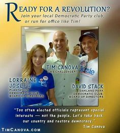 FLORIDA Vote for Tim Canova!  Vote for Bernie Sanders! FeelTheBern.org berniesanders.com Voteforbernie.org #FeelTheBern #BernieSanders Bernie Sanders for President!