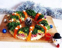 Рецепты салатов с фото на Новый год 2016