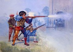 Ataque al castillo Mirabello, al comienzo de la batalla de Pavía. . http://www.elgrancapitan.org/foro/viewtopic.php?f=21&t=16835&p=905568#p905548