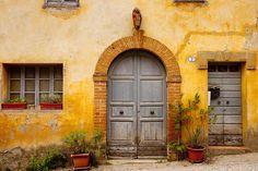 Old Front Door by © Brian Jannsen, via fineartamerica.com   ..rh