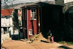 Niña y su abuelo, Valparaiso.