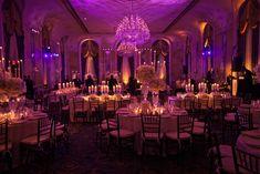 Wedding Flowers Just amazing amazing amazing! Beautiful purple and amber uplighting. Sunset Wedding, Wedding Dj, Purple Wedding, Wedding Themes, Wedding Designs, Wedding Table, Dream Wedding, Wedding Ideas, Themed Weddings
