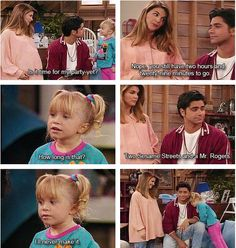 I love how she is with Joey Full House Memes, Full House Funny, Full House Quotes, Really Funny Memes, Stupid Funny Memes, Funny Relatable Memes, Funny Texts, Hilarious, Full House Cast