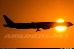 Boeing 777-3B5 aircraft picture