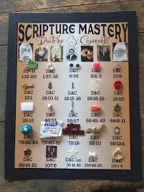 HollysHome - Church Fun: Seminary in a Sack - Collect items to help students remember Doctrine and Covenants Scripture Mastery