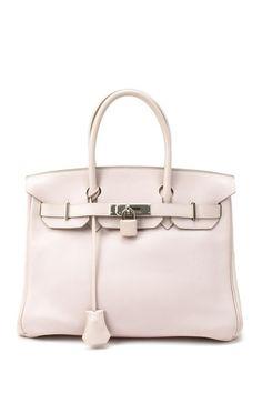 A classic: Vintage Hermes Birkin 30 (Stamp: Square L, Silver Hardware) Handbag by Vintage Bags on @HauteLook