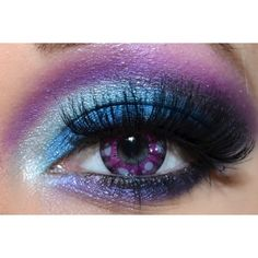 Ursula Halloween Tutorial- Photos Video ❤ liked on Polyvore featuring beauty products, makeup, eye makeup, eyes, beauty and halloween