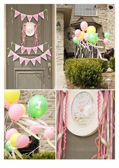Safari Princess First Birthday Party   A Dazzle Day