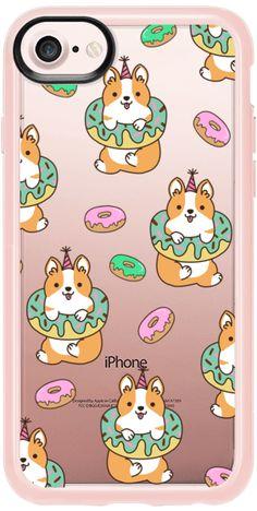 Casetify iPhone 7 Snap Case - Donut Corgi by Mint Corner #Casetify