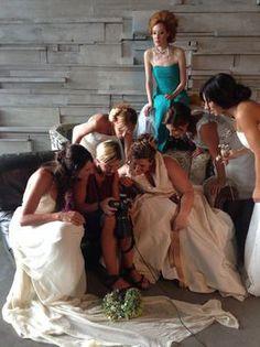 La fotografa Sabina De Conciliis condivide alcuni scatti con le spose modelle