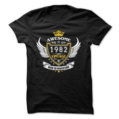 AWESOME VINTAGE 1982 Tshirt - #adidas hoodie #sweater ideas. GET IT NOW => https://www.sunfrog.com/Birth-Years/AWESOME-VINTAGE-1982-Tshirt.html?68278