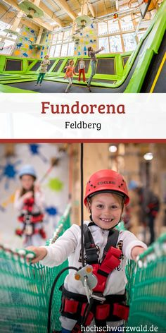 Fundorena on the Feldberg in the Black Forest-Fundorena auf dem Feldberg im Schwarzwald Fun and games in the large indoor playground on Feldberg. There is no boredom here and the rain at the door doesn& matter. Camping Holiday, Winter Camping, Winter Kids, Camping With Kids, Winter Holidays, Outdoor Games For Kids, Indoor Activities For Kids, Winter Activities, Family Activities