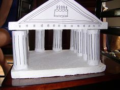 My son loves Greek Mythology and has been asking for years to use it as a theme for a birthday party. I distracted him with other themes (w. Ancient Greek Art, Ancient Rome, Egyptian Art, Ancient Aliens, Greek Gods And Goddesses, Greek Mythology, Ancient Greece Crafts, Parthenon Greece, Greek Buildings