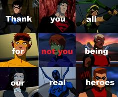 This is how I felt through the entire second season. Young Justice League, Supergirl And Flash, Batman Family, Pokemon Cosplay, Second Season, Cartoon Shows, Dc Heroes, Cultura Pop, Marvel Dc Comics