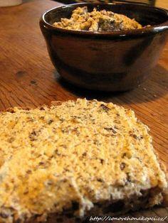 pomazánka z dýně Spreads, Banana Bread, Dressing, Meals, Cooking, Desserts, Recipes, Food, Red Kuri Squash