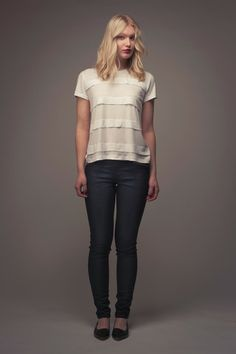 Laurie Striped Tee / Named clothing patterns