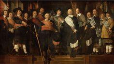 Caesar van Everdingen, Civic guard, 1657, Stedelijk Museum Alkmaar