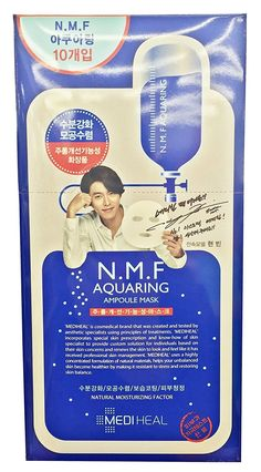 Mediheal N.M.f Aquaring Ampoule Mask 3 Up_new Formular (10 sheets), More Nutrition -- You can find out more details at the link of the image.