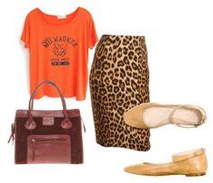 COCO BORDEAUX: How to wear a leopard pencil skirt