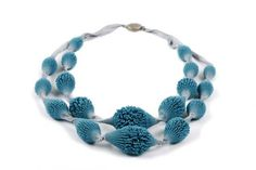 Tzuri Gueta necklace - silicone_bijou_collier_multirang_origine --   http://www.tzurigueta.com
