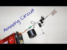 Amazing Voltage Detector, Non contact tester, Electronic project Electronics Components, Diy Electronics, Electronics Projects, Facebook, Strip, Hacks, Pad, Circuit Board, Tutorial