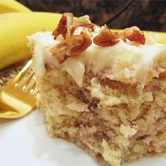 "Banana Cake VI | ""I didn't think that a better recipe existed besides my grandmother's, but boy was I wrong!"""
