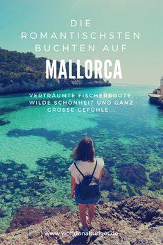 Wo sind die romantischsten Buchten auf Mallorca? Wir stellen dir unsere sechs Lieblingsbuchten rund um die Insel vor, die sogar uns Romantikmuffeln das Herz aufgehen ließen. Spektakuläre Aussichten sind inklusive!