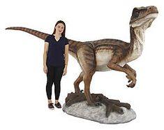 Buy Velociraptor Statue Life Size Raptor Museum Quality on Sale Raptor Dinosaur, Dinosaur Toys, Life Size Statues, Jurassic World Dinosaurs, Realistic Eye, Spinosaurus, Animal Statues, Tyrannosaurus, Vibrant Colors