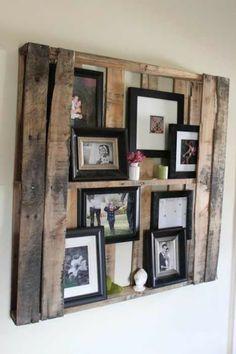 kreatív ötlet családi fotóink bemutatására!
