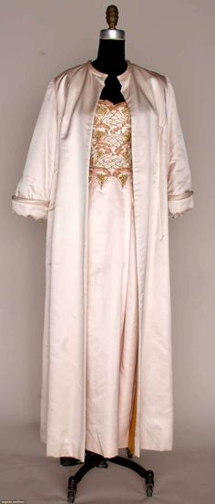 Pale Pink Silk Evening Ensemble, 1960s, Augusta Auctions, March 21, 2012 NYC, Lot 277