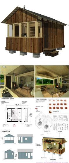 Christie tiny cottage plans