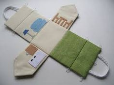 Image result for template for fold out quiet dollhouse made of fabric