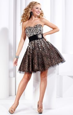 Vestidos de fiesta Animal Print Prom Dresses 67d1e825d