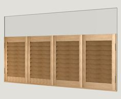 DIY Shutters Design Tier on Tier, Cafe Style or Full Height Shutters