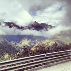 View from bus ride from Guayaquil Ecuador to Cuenca Ecuador. #travel