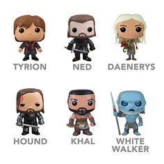 Game of Thrones Vinyl Figures