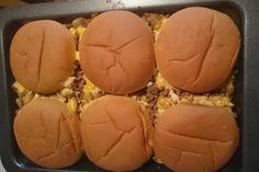 Käse-Burger-Auflauf 1
