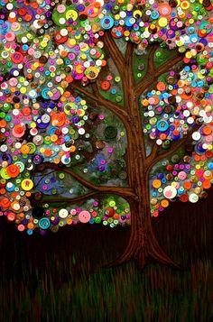 Monica Furlow Botón del árbol 2