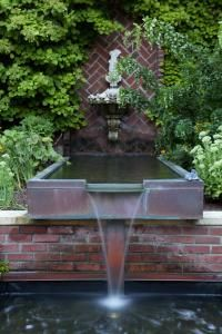 Beautiful water feature. I like formal features best, as they are easier to maintain