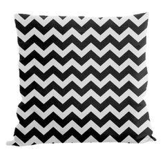 E By Design Chevron Decorative Pillow   AllModern